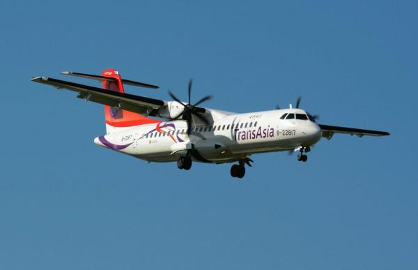 復興航空去年才引進ATR 72-600型輕航機。圖為同型號B-22817班機。(資料照,記者游太郎攝)