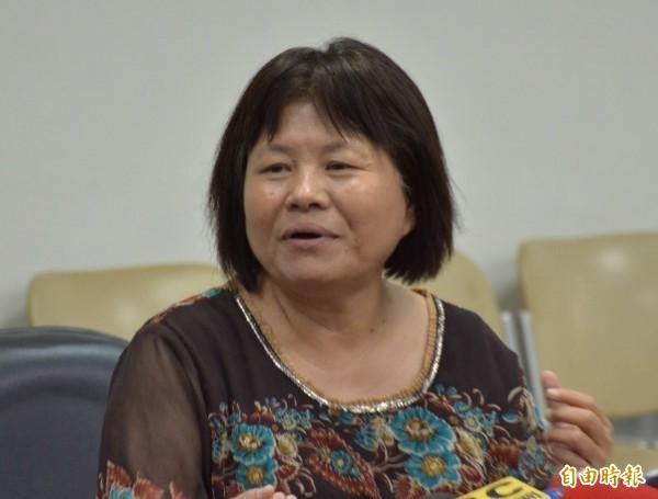 蔣月惠表示,發文只是希望大家看清事實,對於網路上的各種正反言論,她認為讓大家自由討論就好,越討論,民眾才越會去想這些事情到底對台灣好不好。(資料照)