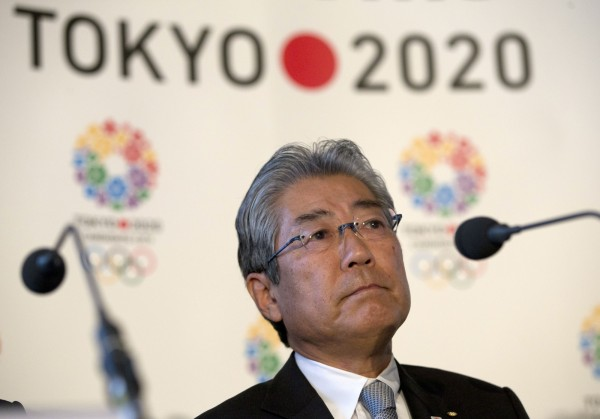 日本奧委會主席竹田恒和涉嫌在2013年為了贏得2020年奧運主辦權,向非洲國家行賄。(資料照,美聯社)