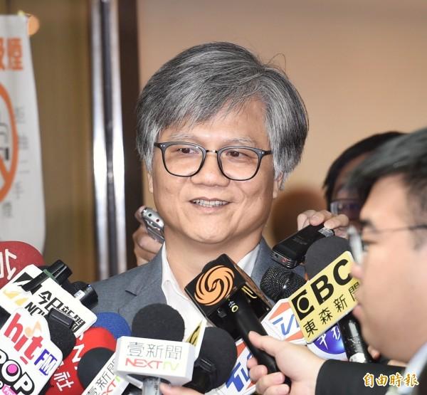 無黨籍候選人吳蕚洋。(資料照,記者方賓照攝)