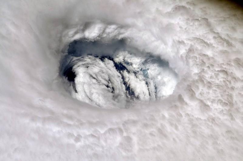國際太空站日前捕捉到驚人一幕。(擷取自NASA)