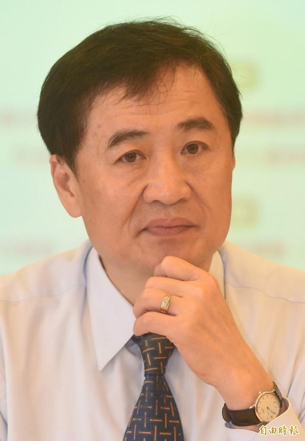 台北市政府懸缺許久的第3名副市長一職,今確定由前行政院秘書長陳景峻接任。(資料照,記者劉信德攝)