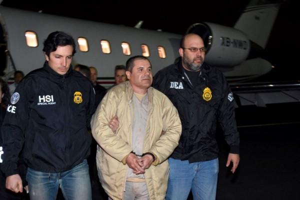 知名墨西哥毒梟「矮子」古茲曼(Joaquin 'El Chapo' Guzman)。(美聯社)