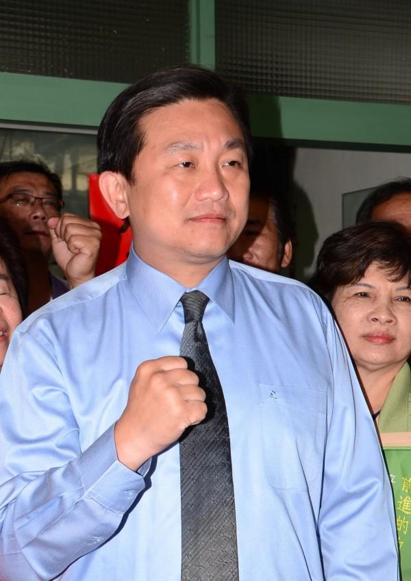 台南市立委參選人王定宇(資料照,記者吳俊鋒攝)