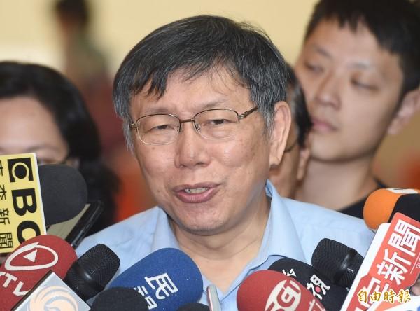 太陽花學運領袖林飛帆痛批,台北市長柯文哲忽略了「兩岸一家親」在中國對台統戰上的意義,誤以為援引這套論述與承認「一中政策」無關,但其實是非常致命的錯誤。(資料照)