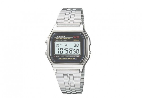 型號「A159WA」暢銷手錶在日本國內售價約為台幣275元至826元,屬廉價手錶。(圖擷取自卡西歐官網)
