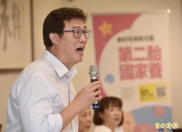 民進黨台北市長參選人姚文智11日受訪稱反年改人士為「王八蛋」。(資料照)