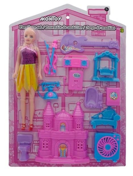 加拿大折扣零售商「Dollarama」近日共召回逾5.2萬套,一款已出售的中國製塑膠娃娃「MONTOY Doll」,據悉該玩具含過量的化學物質「鄰苯二甲酸酯」(Phthalate)。(翻攝自加拿大政府網站)