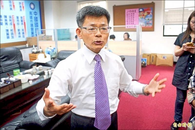 前高雄縣長楊秋興表示,他會支持最會勝選的候選人。(資料照)