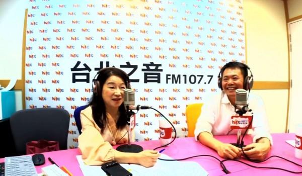 林為洲今(30日)上午接受廣播節目專訪。(圖擷取自「Hit Fm聯播網-周玉蔻《蔻蔻早餐》」臉書粉絲團)