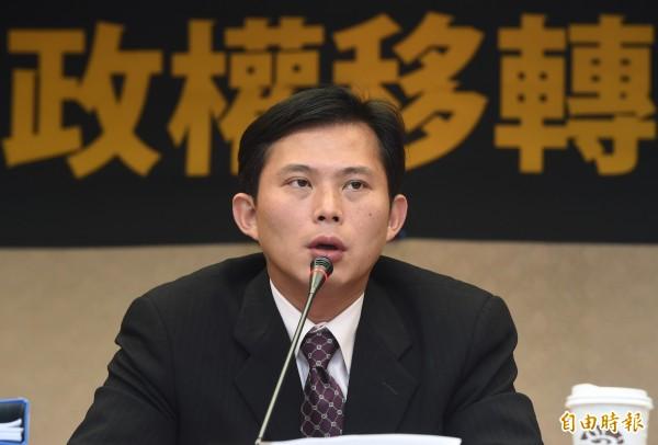 黃國昌表示,明天立法院開議,他提出的第一個議題就是核一、核二廠核廢料如何處理。(資料照,記者廖振輝攝)