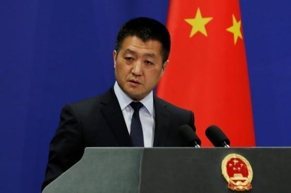 中國外交部發言人陸慷。(路透)