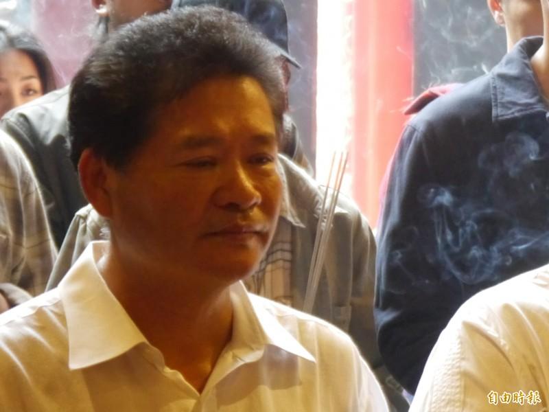 鎮瀾宮副董事長鄭銘坤。(記者張軒哲攝)