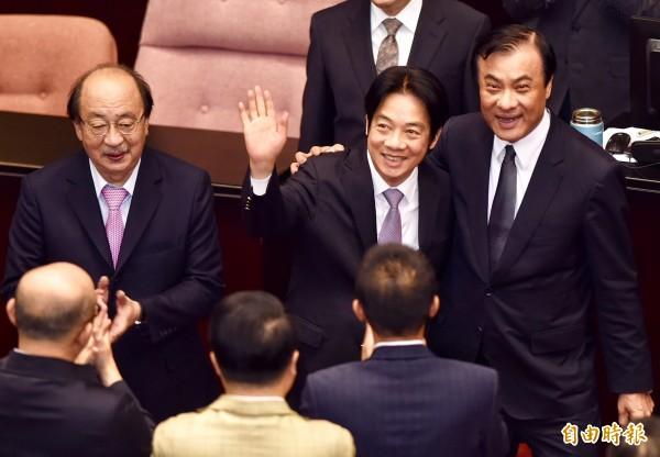 賴揆明宣布內閣總辭 已獲總統同意