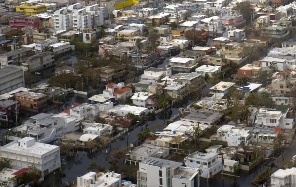 波多黎各風災造成近3000人死亡。(資料照,美聯社)