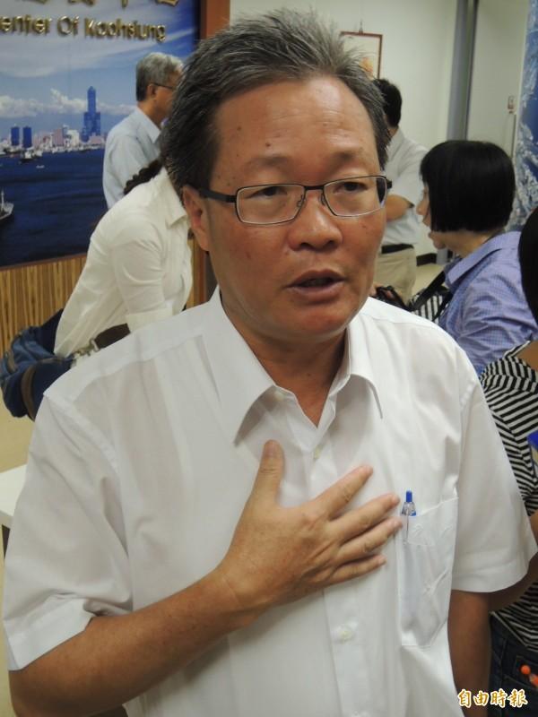 高雄市副市長陳金德。(資料照,記者王榮祥攝)