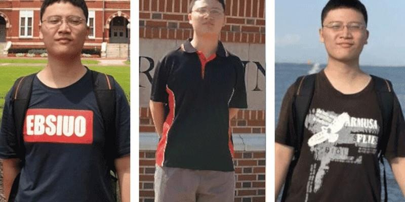 台北科技大學資工系學生賴致愷在美失蹤。(美國阿拉巴馬州奧本警方提供)