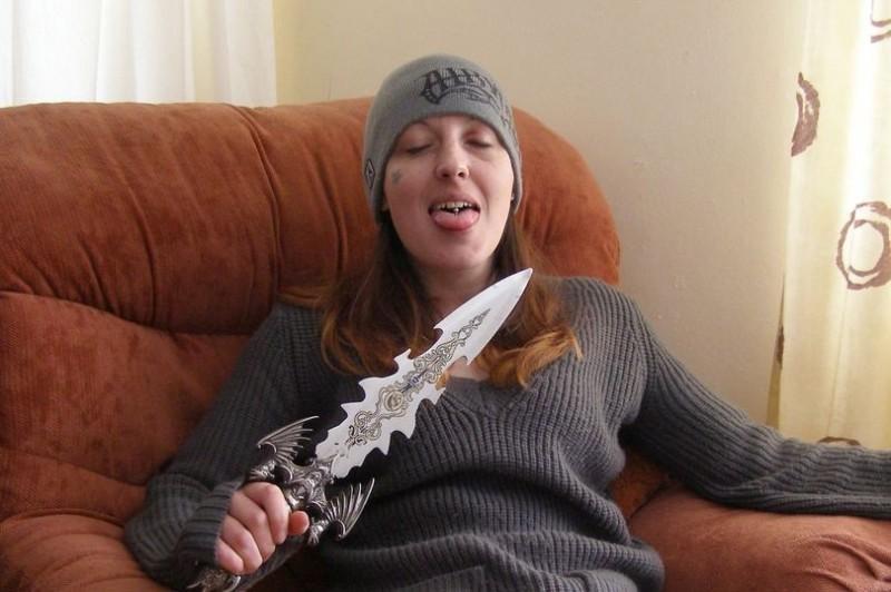 喬安娜曾被列為英國最危險人物之一。(翻攝自Joanna Dennehy臉書)