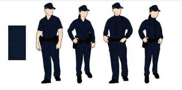 「專業戰術型」參考各國特勤單位與市面戰術商品,以強化保護、提升安全為主。(圖擷取自 NPA署長室)