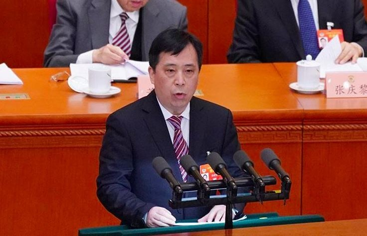 中國三自愛國會運動委員會主席徐曉鴻稱,要消滅中國基督教的「洋烙印」。(圖擷自微博)