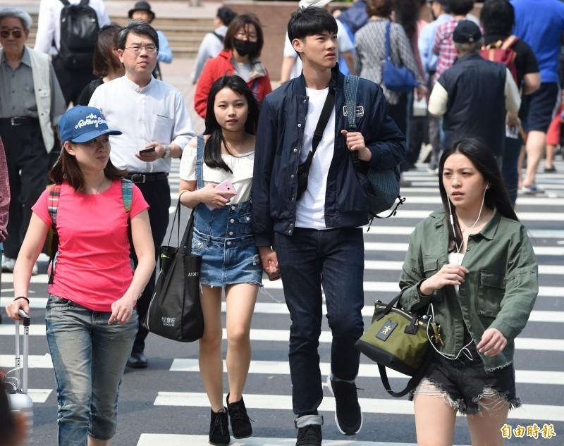 今天各地陽光露臉,高溫也持續上升,氣象局觀測,今天全台最高溫為屏東楓港33.7度、台北也有30.9度。(資料照)