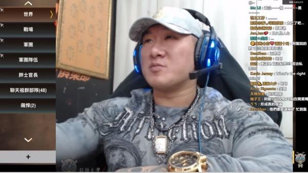 館長透露,他曾請韓國瑜、謝龍介一起拍公益影片,結果對方都已讀不回。(圖擷自金剛直播)
