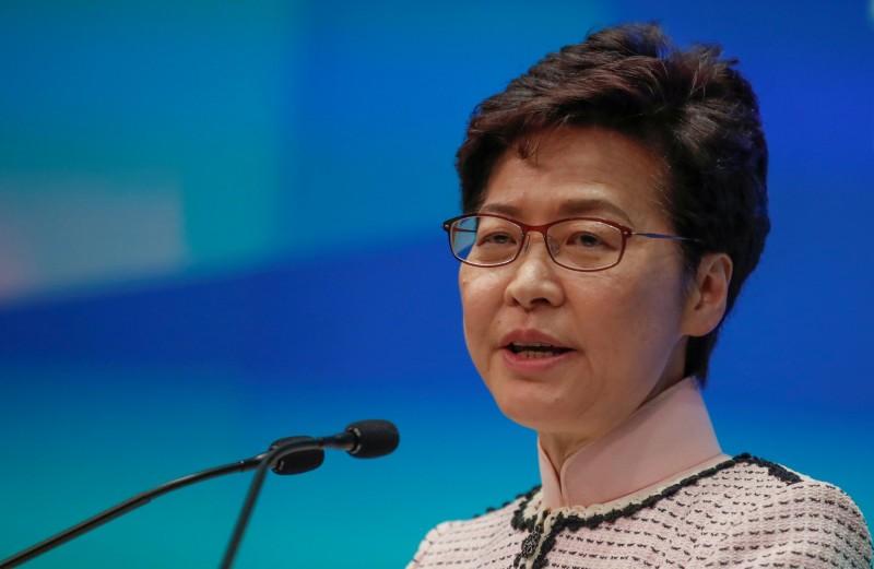 「政治玩火者」香港特首林鄭月娥