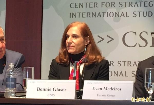 美國國際與戰略研究中心(CSIS)亞洲資深顧問葛來儀(Bonnie Glaser)。(資料照)