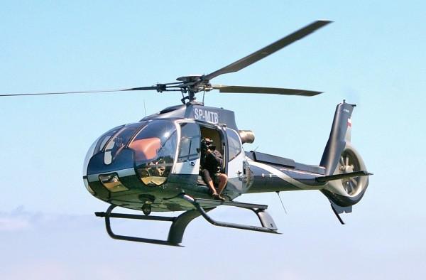 一架Eurocopter EC130在大峽谷附近墜毀,至少3死。圖為同型機。(圖擷自維基百科)