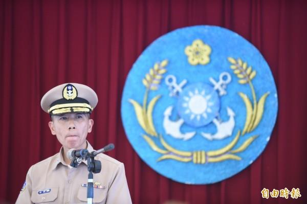 金江艦誤射雄三飛彈一事,海軍司令部參謀長梅家樹表示,此為人員沒有按照正常程序操作,稱沒有人員傷亡。(記者劉信德攝)