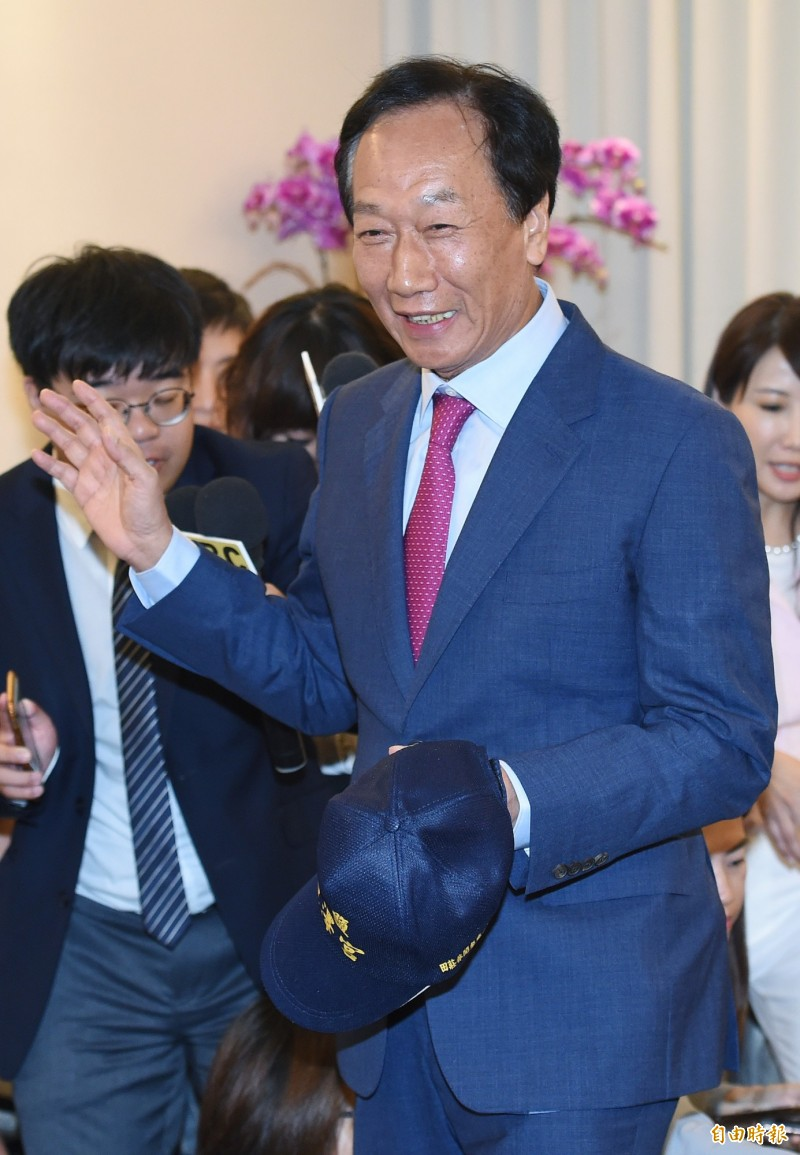 鴻海創辦人郭台銘至今仍未鬆口是否要投入2020年總統大選,而他的副手人選也備受外界關注。(資料照)