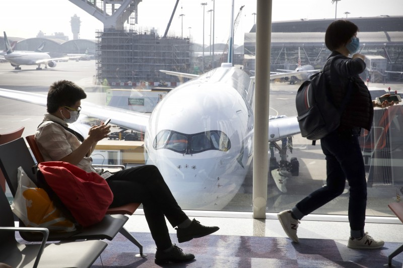 中國武漢肺炎疫情持續擴大,觀光局證實將全面禁止旅行社出團至湖北旅遊。示意圖。(美聯社)