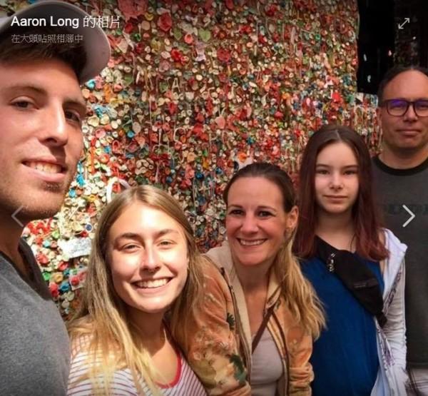 美国一名现年42岁母亲洁西卡(Jessica Share,图中),原本是名女同志,没想到竟爱上职业捐精男艾伦(Aaron Long,右一)。(图撷取自Aaron Long脸书)