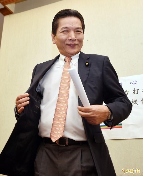 國民黨現任立委李鴻鈞,將出任親民黨總統參選人宋楚瑜辦公室發言人。(資料照,記者方賓照攝)