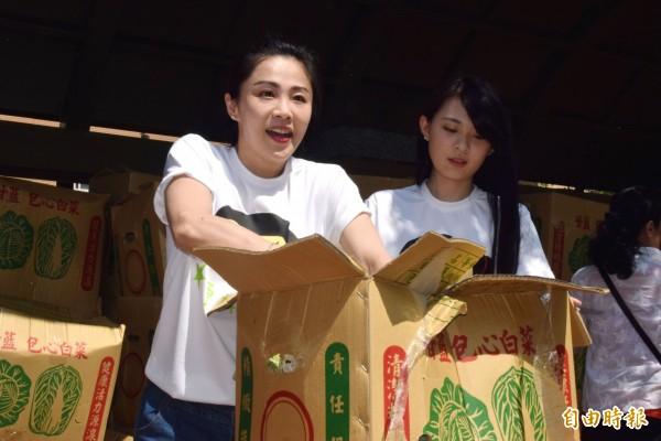 前新北市議員李婉鈺(左)。(資料照,記者陳韋宗攝)