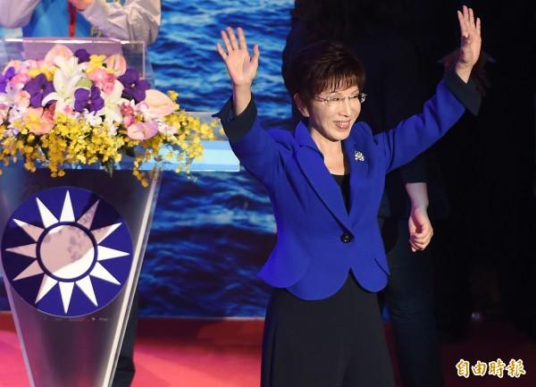 黨內人士透露,洪秀柱不會接下不分區或任何國營事業,她目前只想競選黨主席。(資料照,記者廖振輝攝)