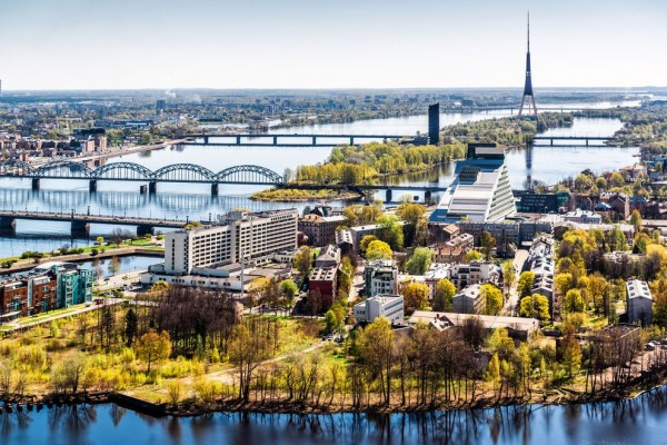 拉脫維亞的里加(Riga)。(圖擷自BuzzFeed)