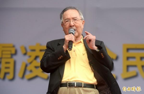 總統府資政吳澧培。(資料照)