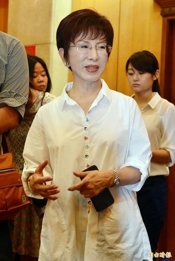 國民黨2016總統初選,目前僅有立法院副院長洪秀柱通過連署參戰。(資料照,記者王藝菘攝)