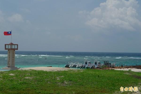 美機構分析若美艦停泊太平島,對中國將是嚴重挑釁。國防部今重申,凡是向我國提出人道救援申請者,我方將考量區域及國家利益來作決定。(資料照)