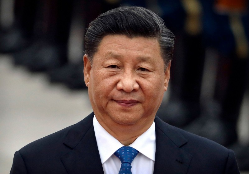 中共國家主席習近平中秋登門送元老月餅,被疑探元老身體實況。(法新社)