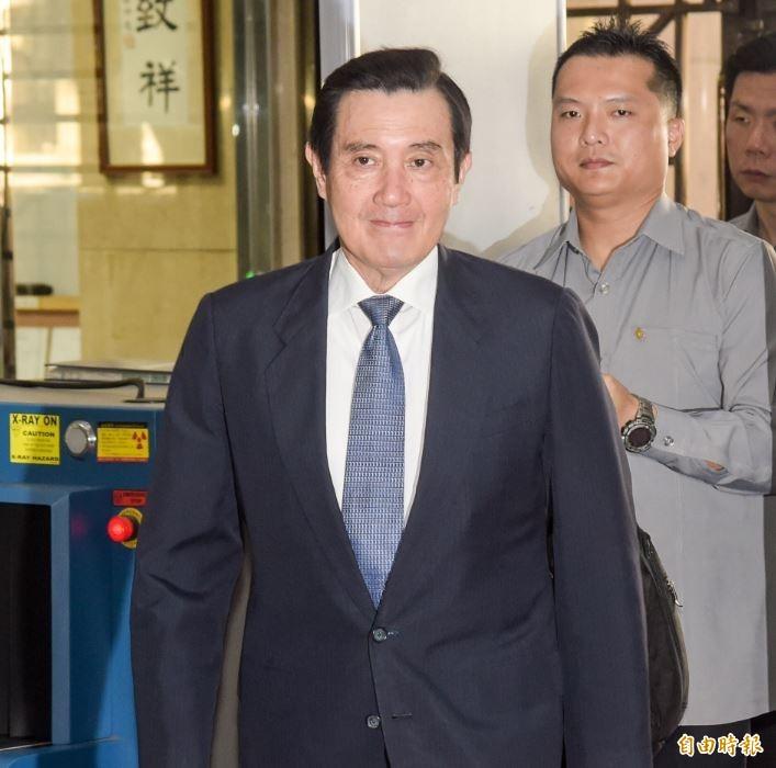 圖為前總統馬英九昔日出庭。(資料照)