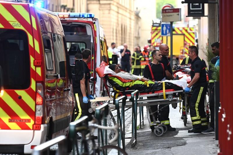 多人因爆炸受傷。(法新社)