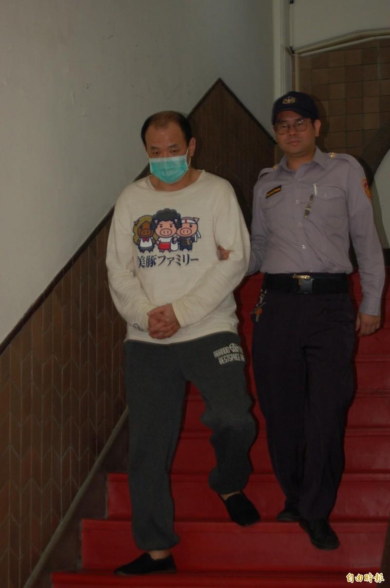 男子陳萬庭(如圖)被控不滿劉姓同志情人欲分手而將他槍殺身亡,更審判17年。(資料照)