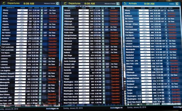 美東暴風雪一夜降到零下37度 今約2千航班停飛