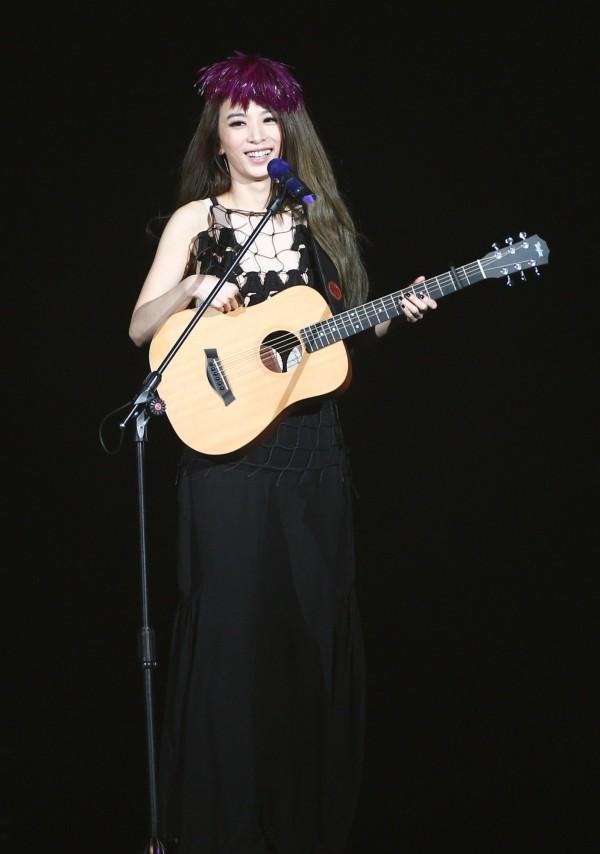 田馥甄的9月19日高雄演唱會1萬張門票,20分鐘內全賣光。(資料照,記者王文麟攝)