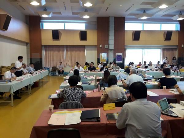 教育部今天召開課審大會,持續審議12年國教的國語文課綱。(教育部提供)