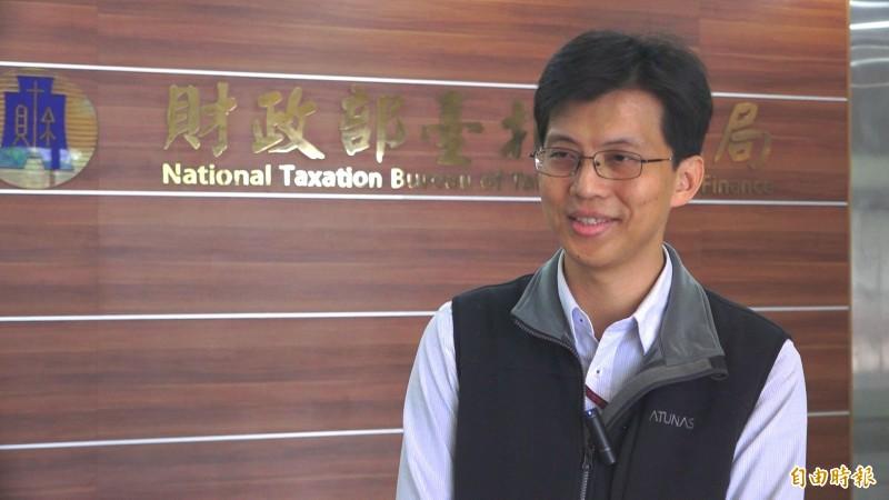 財政部呂桂守表示今年減稅新制,預估受益戶達542萬戶。(記者胡姿霞攝)