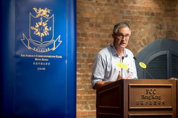 香港外國記者會(FCC)副主席馬凱遭港全面封殺。(路透)