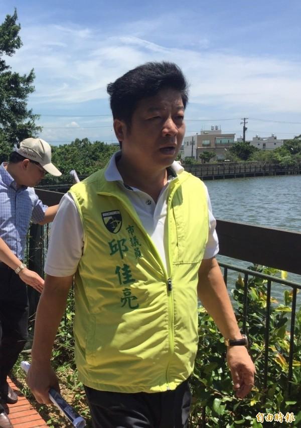 桃園市議員邱佳亮再度被延押2個月。(資料照)